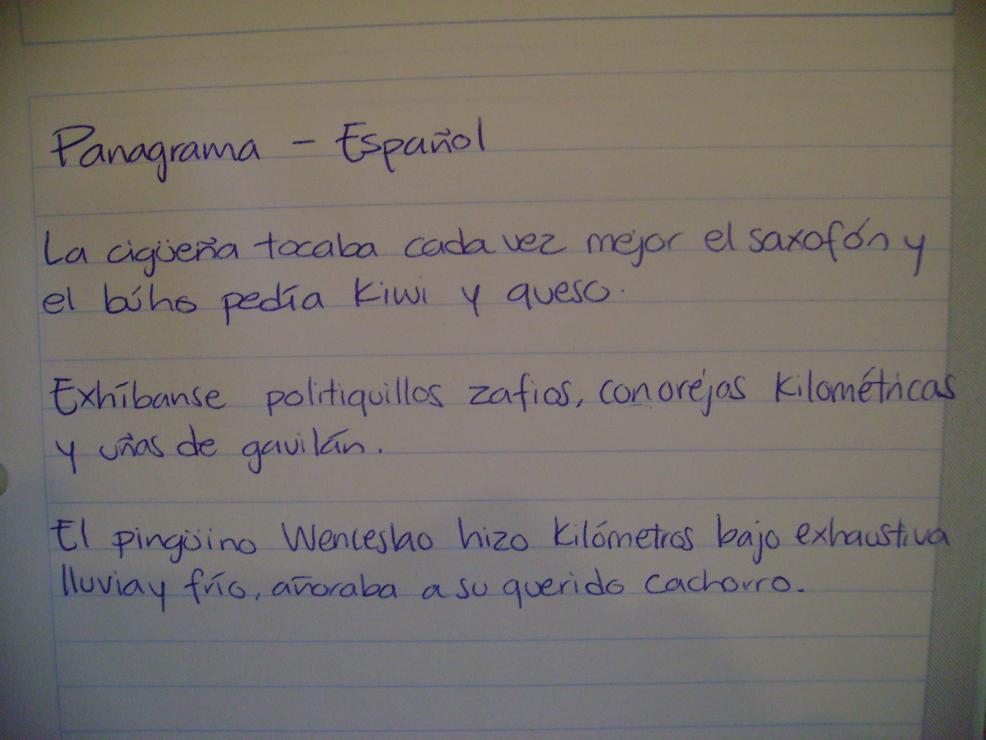 roman handwriting